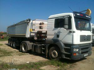 Inchirieri utilaje timisoara Camion