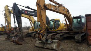 Inchirieri utilaje timisoara excavator Volvo